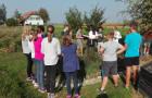 Šmarski sedmošolci na taboru v CŠOD Štrk (1. dan)