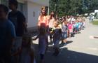 Povečanje šolske družine na Tovarniški in Adamičevi
