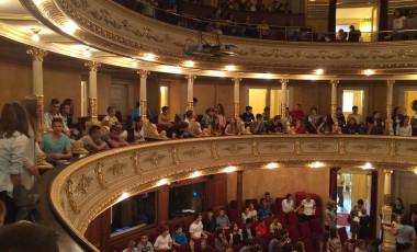 Devetošolci s Tovarniške smo bili v operi