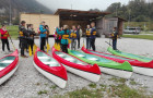 Vtisi s tabora osmošolcev v Tolminu