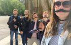 Nizozemski in slovenski učenci odkrivali zaklade Ljubljane